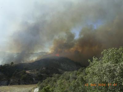 El Incendio en Gabasa